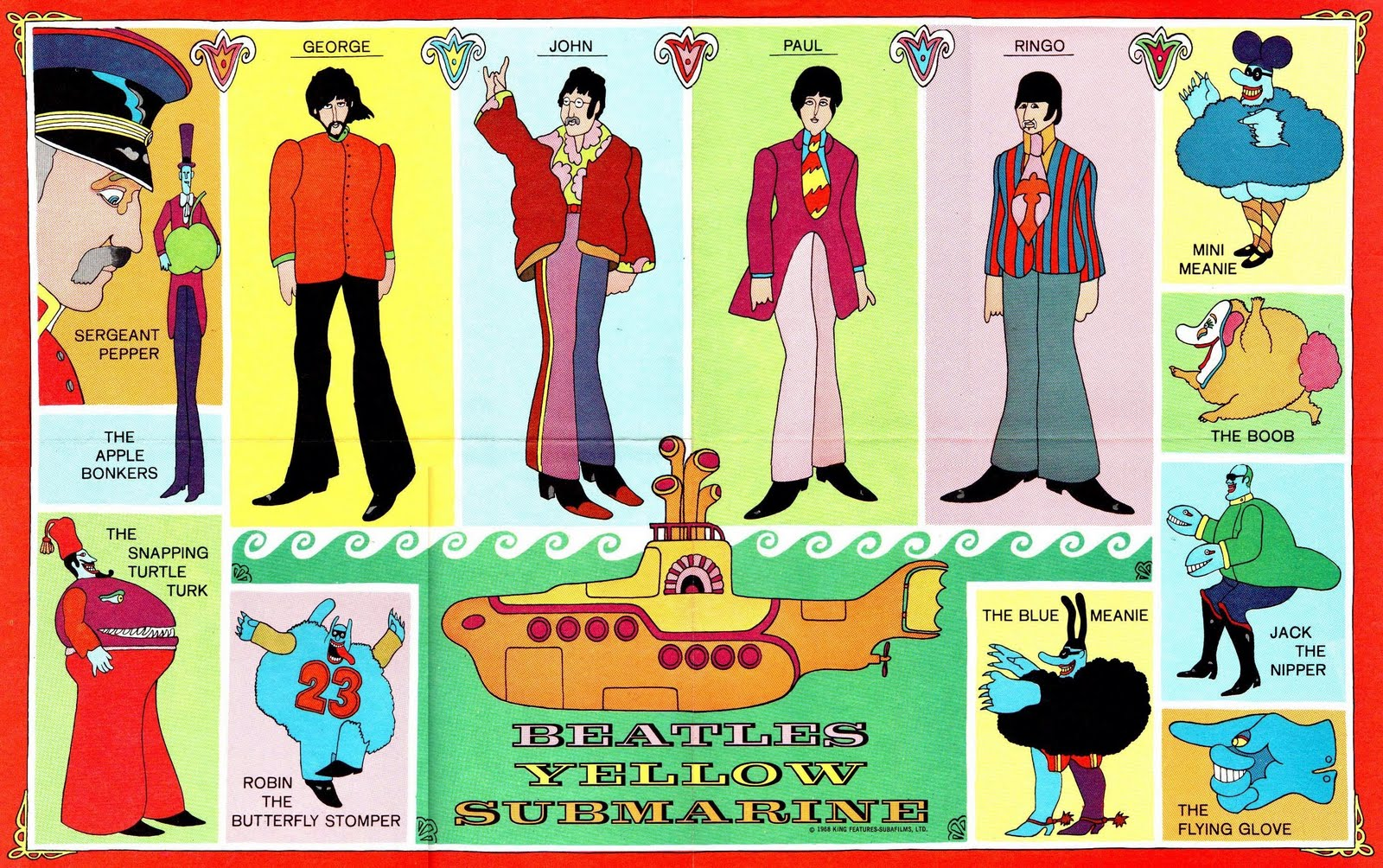 beatles_yellow_submarine_comic_poster