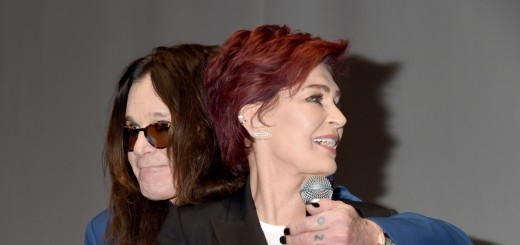 LOS ANGELES, CA - MAY 12:  Ozzy Osbourne and Sharon Osbourne attend the Ozzy Osbourne and Corey Taylor Special Announcement on May 12, 2016 in Hollywood, California.  (Photo by Jeff Kravitz/FilmMagic)