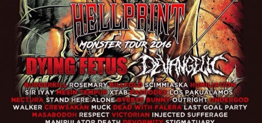 Hellprint Monster Tour 2016