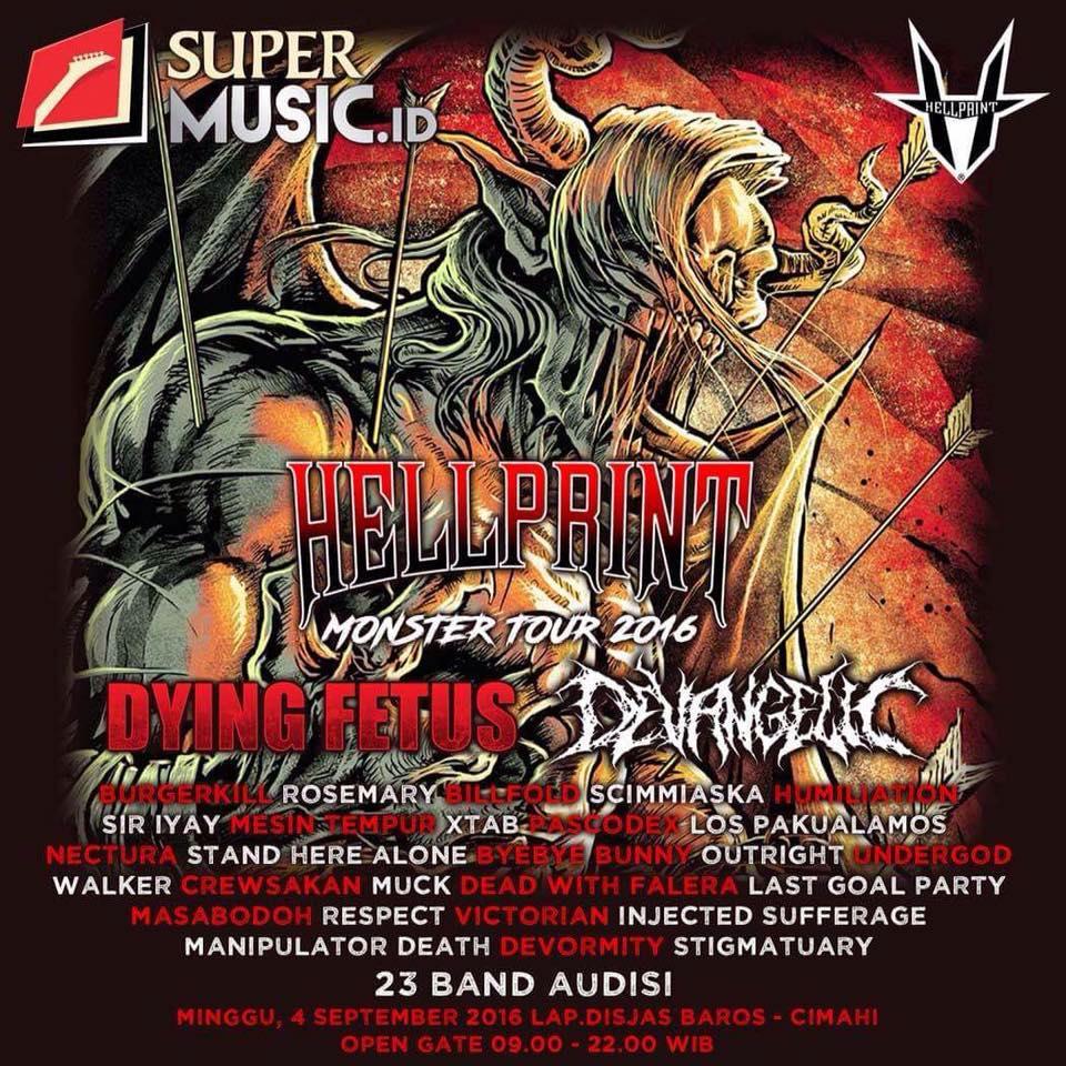 Hellprint Monster Tour 2016