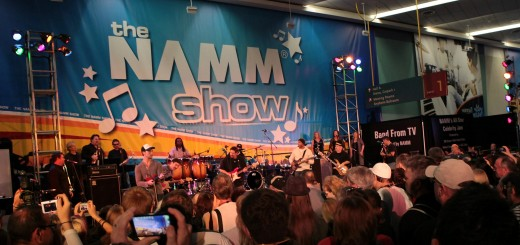 ANAHEIM, CA - JANUARY 15:  Band From TV and guest artists perform on stage at the 2011 NAMM Show - Day 4 at the Anaheim Convention Center on January 15, 2011 in Anaheim, California.  (Photo by David Livingston/Getty Images for NAMM)