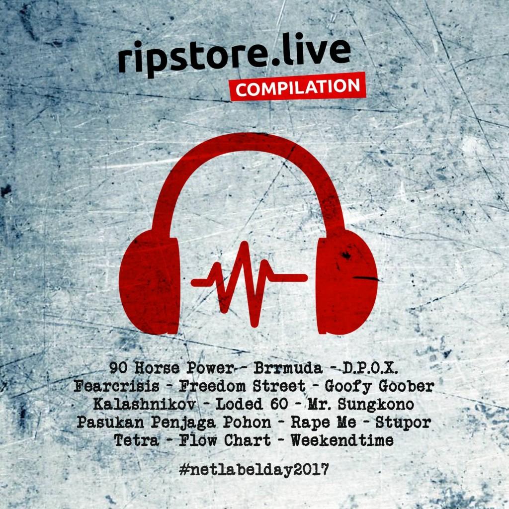 Artwork - Ripstore Live Compilation Vol 1