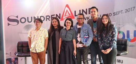 Musisi dari berbagai genre ceritakan keberagaman warna musik dan umumkan project kolaborasi di panggung akbar Soundrenaline 2017