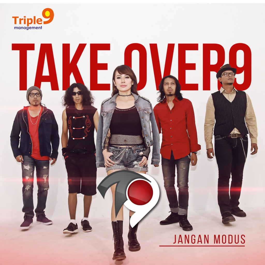 cover single TAKE OVER9