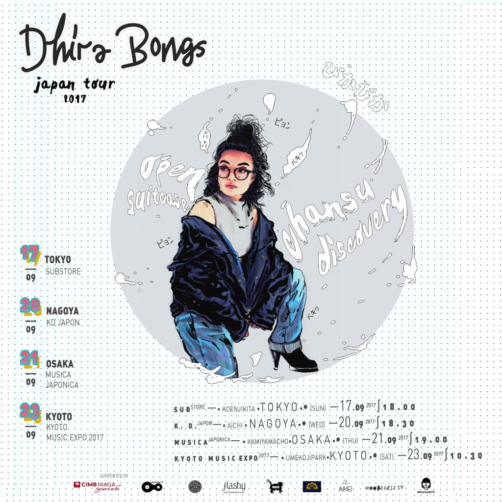 Dhira Bongs Japan Tour 2017