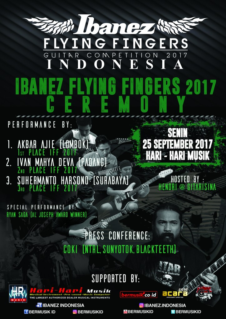 Ibanez Flying Finger 2017