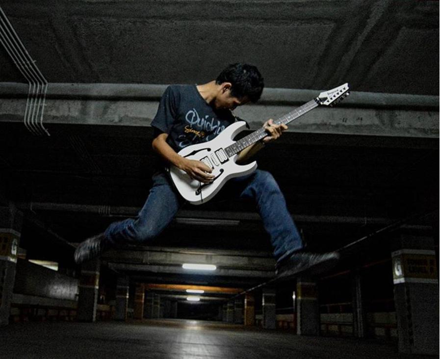Hilman Muhammad, Gitaris Muda Palembang