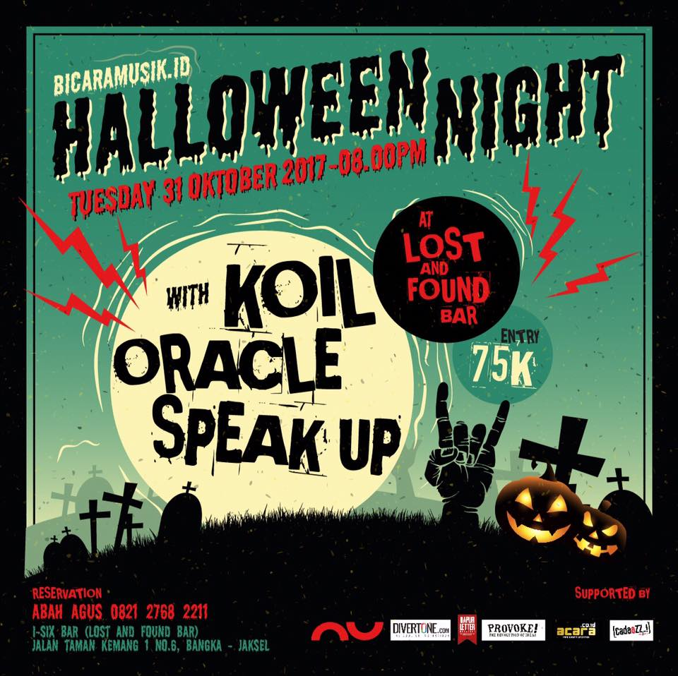 Bicaramusik.id Halloween Night