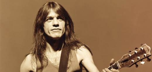 Image #: 22976    Guitarist Malcolm Young of the band AC/DC, phtographed with Gretch guitar in London, on August 24, 1995.    Michael Halsband /Landov