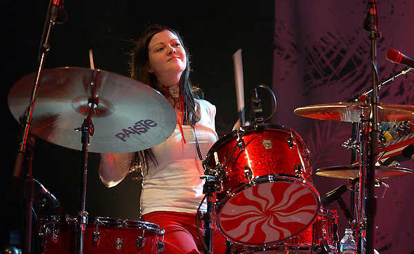 The White Stripes Concert at the Greek Theatre, Los Angeles. Picture: UK Press