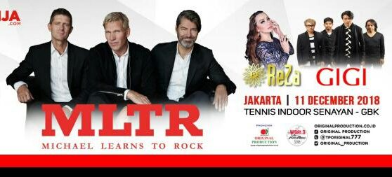 Reza Artamevia dan GIGI Tampil Memukau di Opening Konser MLTR
