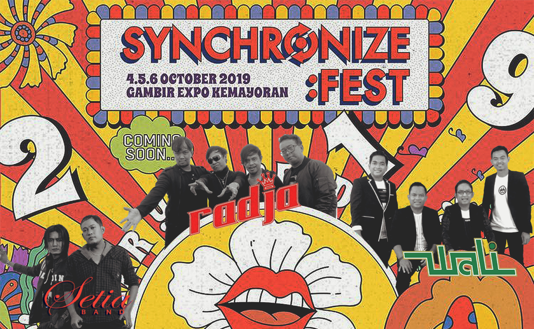 Menikmati 'Guilty Pleasure' di Synchronize Fest 2019