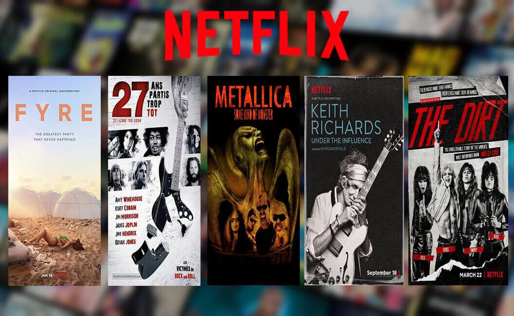 5 Film Musik Yang Bisa Kamu Tonton di Netflix