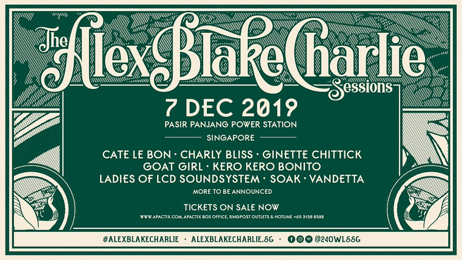 The Alex Blake Charlie Sessions Siap Hadir di Akhir 2019