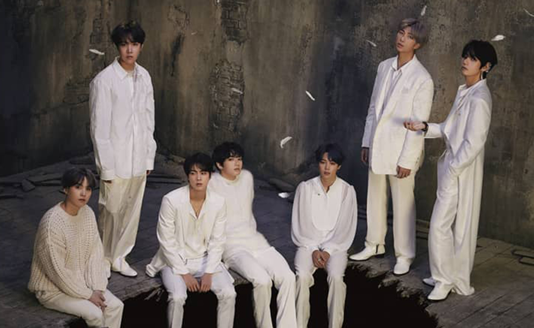 Album BTS 'Map of The Soul 7' Bertabur Musisi International