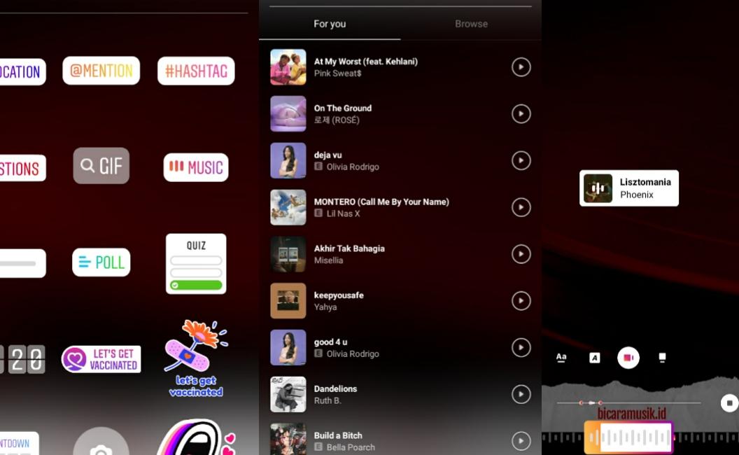 Kenapa Fitur Instagram Music Baru Tersedia di Indonesia dan Bagaimana Cara Menggunakannya?